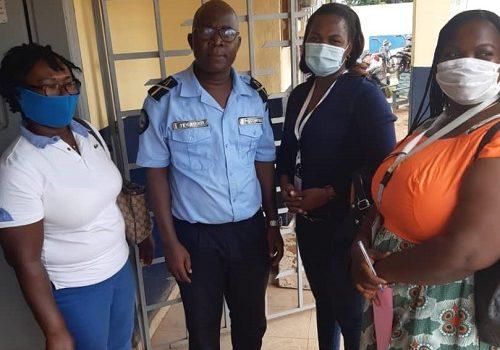 La CRDH-Guémon visite les commissariats et brigades de gendarmerie