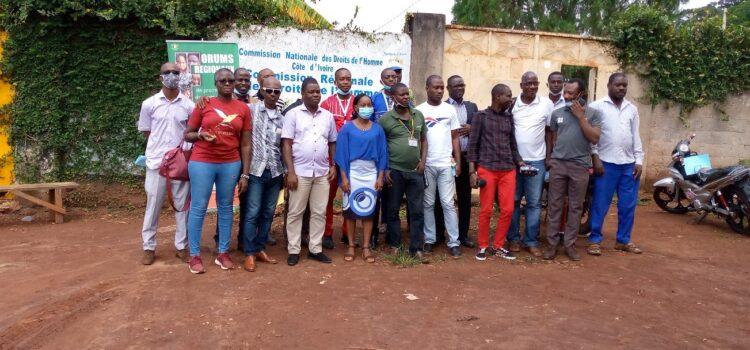 Tonpki : La CRDH échange avec la chambre des rois et chefs traditionnels