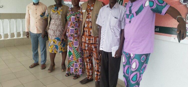 Marhoue : La CRDH met en place le mécanisme CRDH/MEDIA pour la promotion des droits de l'homme à Bouaflé