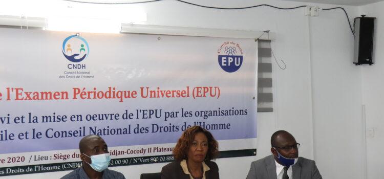 Troisième cycle de l'EPU/ Le CNDH et les OSC font le point de la mise en œuvre des recommandations