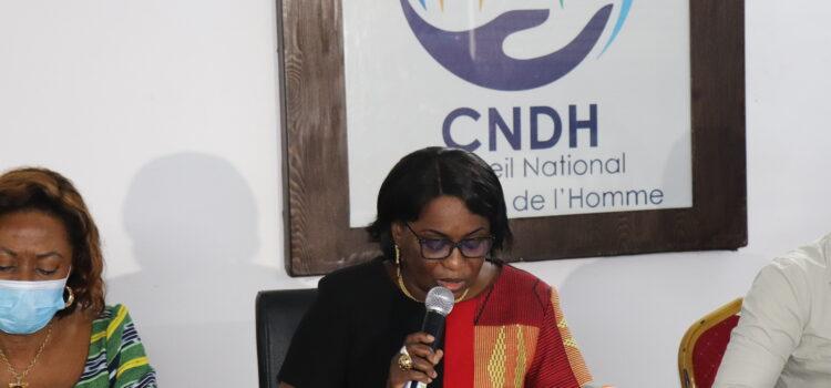 Situation des droits de l'homme: le CNDH fait le point avec les diplomates