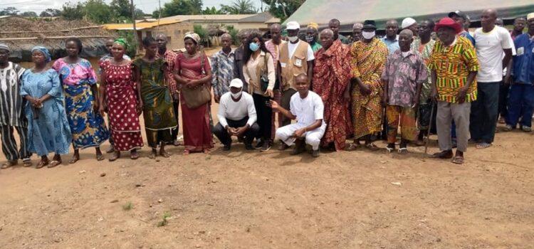 Région du Gboklé/Prévention des conflits communautaires en période électorale La CRDH en activité de sensibilisation dans la Sous-Préfecture