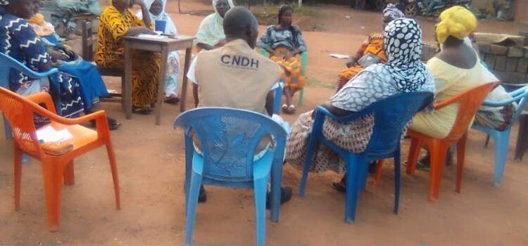 Période électorale : La CRDH du folon sensibilise à la non-violence