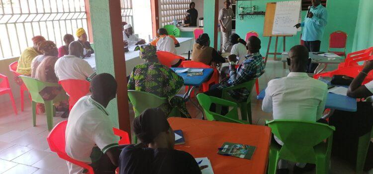 KABADOUGOU/Formation des membres de l'Union des Sociétés Civiles du Denguelé (USCD) sur l'observation électorale