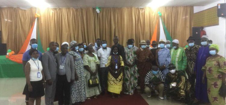 Région sud-comoé/La CRDH sensibilise sur le respect des Droits de l'Homme en période électorale