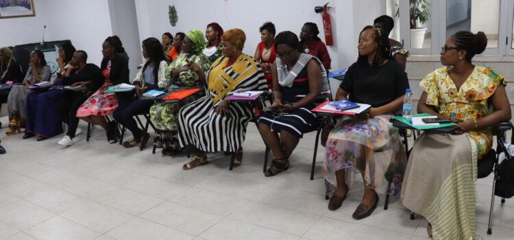 Session de formation  intensive Le CNDH forme des femmes pour les élections