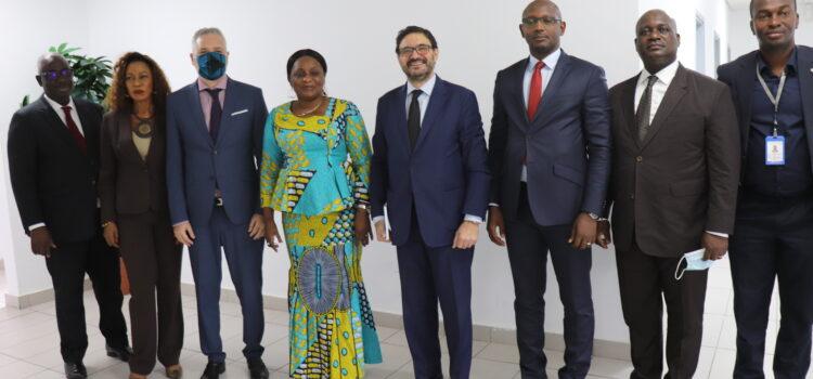 Coopération : L'Ambassadeur du royaume d'Espagne en visite de travail au CNDH