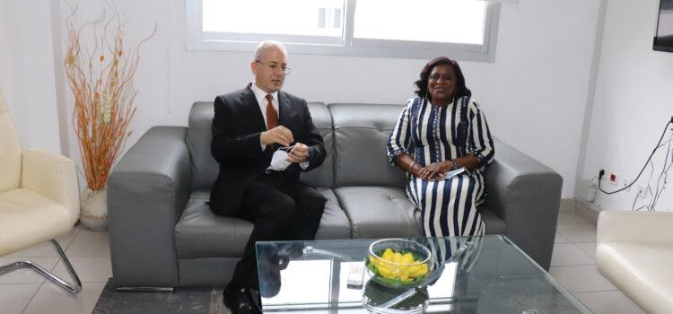 L'ambassadeur de l'Egypte au CNDH