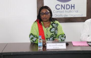 Mécanisme  CNDH/ Partis politique/Le CNDH recueille des propositions des partis politiques