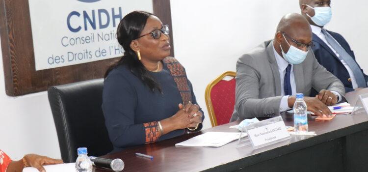 Le CNDH échange avec le corps diplomatique accrédité en côte d'ivoire