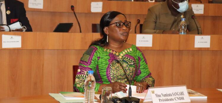 Droits de l'Homme/Le rapport 2019 du CNDH présenté aux députés