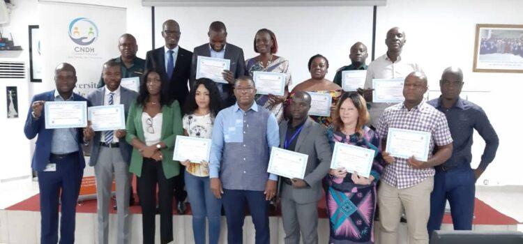 Formation sur le système judiciaire ivoirien (2021): 15 participants formés