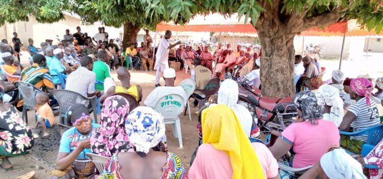 Droit à la santé: La CRDH du Kabadougou sensibilise