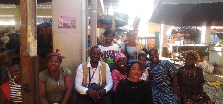 Droit de l'Homme: la CRDH du Gboklè sensibilise les commerçants