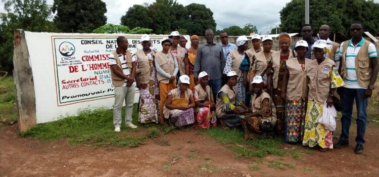 Droit à l'éducation: la CRDH du Kabadougou sensibilise